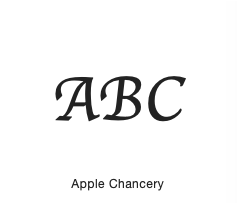 Apple Chancery