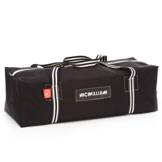 charcoal holdall